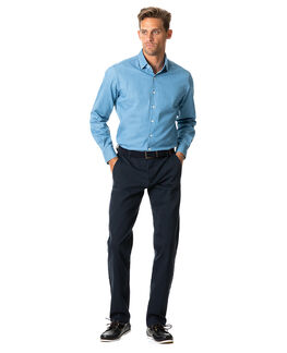 Meadowpoint Sports Fit Shirt/Denim XS, DENIM, hi-res