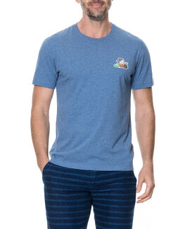 Birdie Lane Sports Fit T-Shirt /Sky XS, SKY, hi-res
