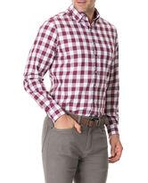 Flints Bush Shirt, CLARET, hi-res
