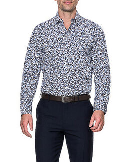 Lombard Tailored Shirt/Royal 43/XL, ROYAL, hi-res