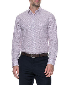 St Andrews Tailored Shirt/Crimson 38/XS, CRIMSON, hi-res