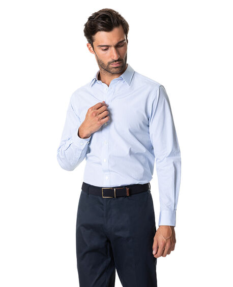 Whitely Sports Fit Shirt, CORNFLOWER, hi-res