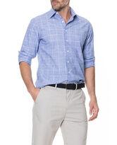 Tussock Creek Sports Fit Shirt, AZURE, hi-res
