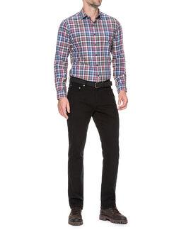 Brookview Sports Fit Shirt/Bluestone XS, BLUESTONE, hi-res