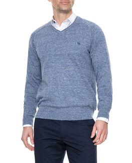 Arbors Track Sweater, RIVIERA, hi-res