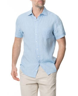 Ellerslie Sports Fit Shirt, CHAMBRAY, hi-res