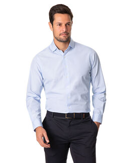 Bergamo Sports Fit Shirt, SKY, hi-res