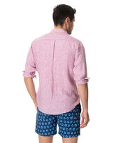 Bay Of Islands Sports Fit Shirt, HIBISCUS, hi-res