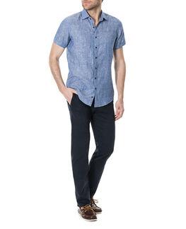 Saltwater Creek Sports Fit Shirt/Chambray XS, CHAMBRAY, hi-res