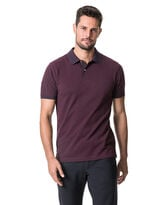 New Haven Sports Fit Polo, MAGENTA, hi-res
