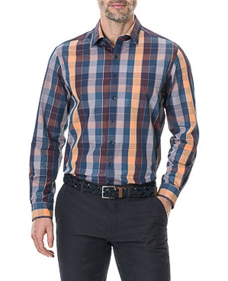Weavers Crossing Shirt, CORAL REEF, hi-res