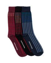 Cascade River Three Pack Sock/Multi 0, MULTI, hi-res