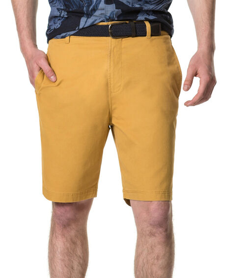 Glenburn Slim Fit Short, MUSTARD, hi-res