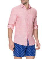 Warwick Junction Sports Fit Shirt, CORAL, hi-res
