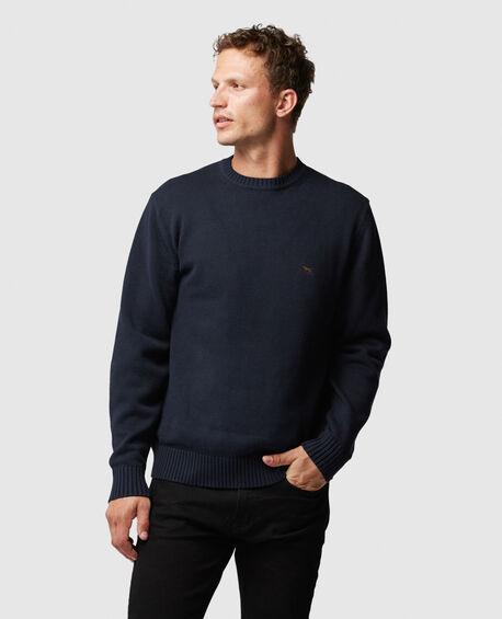 Gunn Crew Knit, SAPPHIRE, hi-res