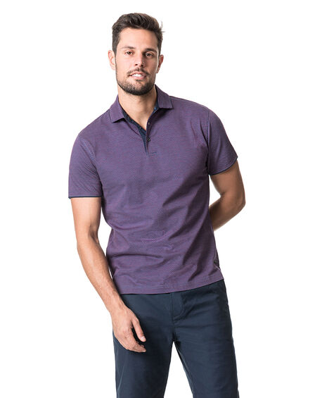 Alton Valley Sports Fit Polo, MULBERRY, hi-res