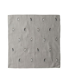 Kenwyn Street Pocket Square/Steel 1, STEEL, hi-res