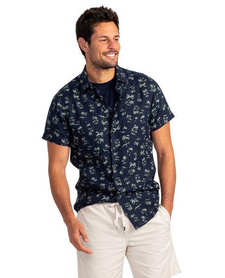 Somes Island Sports Fit Shirt, GRASS, hi-res