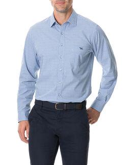 Glenariffe Shirt, AZURE, hi-res