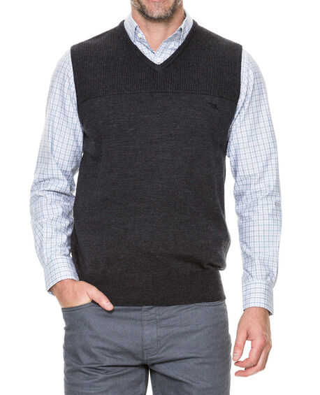 Brinkworth Vest, CHARCOAL, hi-res