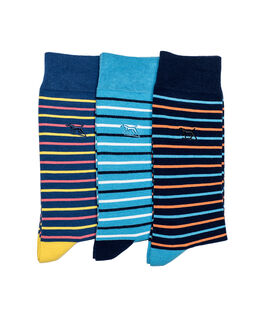 Heaphy Shoal Three Pack Sock/Coral Sea 0, CORAL SEA, hi-res