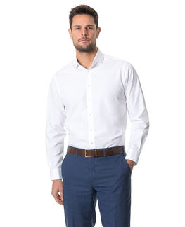Wayby Sports Fit Shirt, SNOW, hi-res