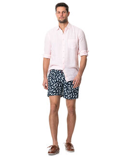 Islington Bay Swim Short/Pacific Blue XS, PACIFIC BLUE, hi-res