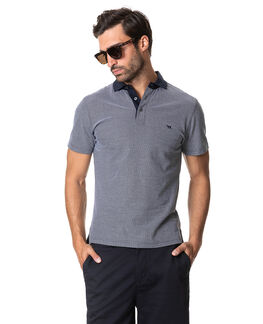 Leigh Sports Fit Polo, TRUE NAVY, hi-res