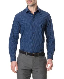Aylesbury Sports Fit Shirt, MARINE, hi-res
