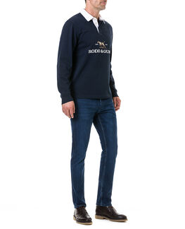 Ranger Place Sweat/Navy XS, NAVY, hi-res