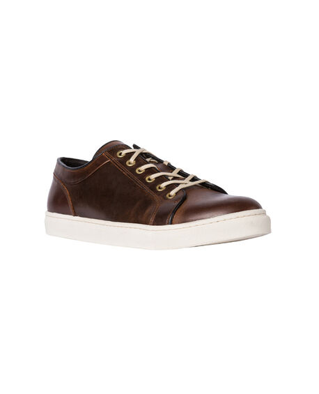Aria Lace-Up Sneaker, BOURBON, hi-res
