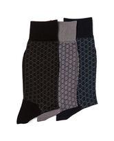 Talavera Terrace Three Pack Sock/Midnight 0, MIDNIGHT, hi-res