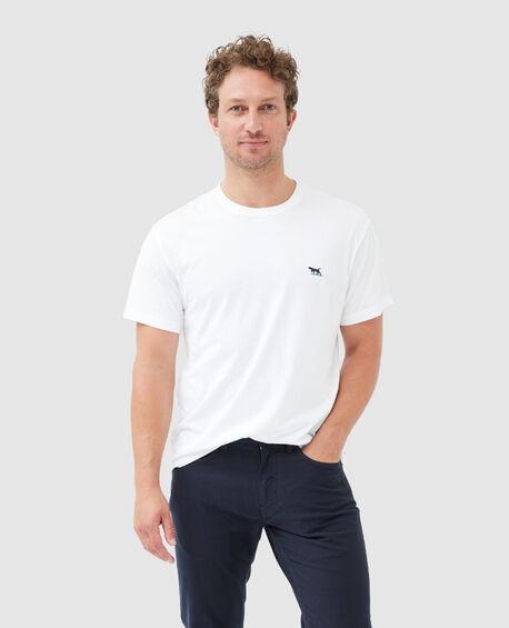 The Gunn T-Shirt , SNOW, hi-res