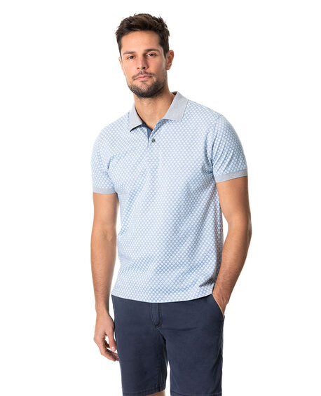 Raview Sports Fit Polo, ARCTIC, hi-res