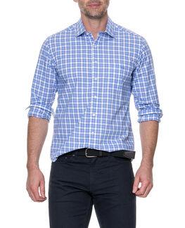 Cedarwood Sports Fit Shirt, SKY, hi-res