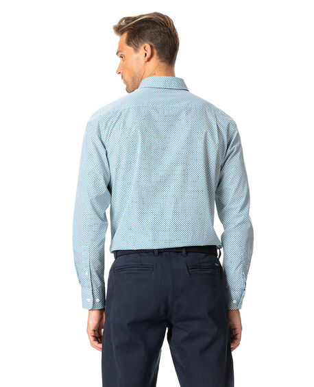 Gravesend Sports Fit Shirt, SNOW, hi-res