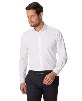 Bergamo Sports Fit Shirt, SNOW, hi-res