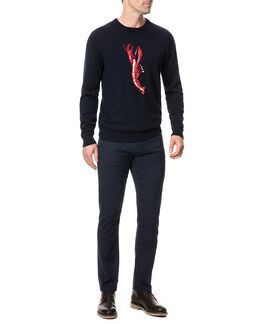 Nautic Marine Knit, NAVY, hi-res
