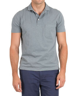 Mount Wilson Sports Fit Polo/Graphite XS, GRAPHITE, hi-res