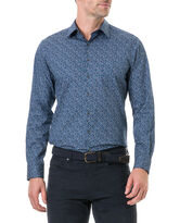Scotland Street Sports Fit Shirt, NAVY, hi-res
