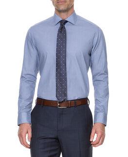 Walbrook Shirt/Peacoat 38, PEACOAT, hi-res