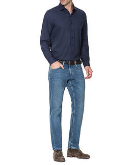 Nicholls Regular Fit Jean/Rl Denim 30, DENIM, hi-res