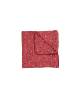 Bowen Avenue Pocket Square/Coral 1, CORAL, hi-res