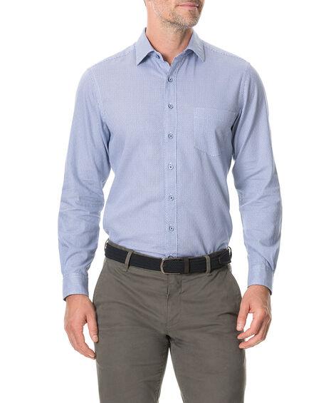 Livingstone Sports Fit Shirt, RIVER, hi-res