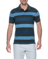 Hutt Valley Sports Fit Polo, FOREST, hi-res