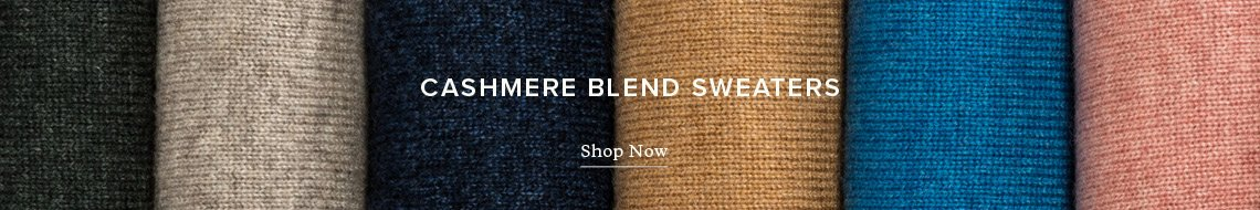 Cashmere Blend Sweaters. Shop Now