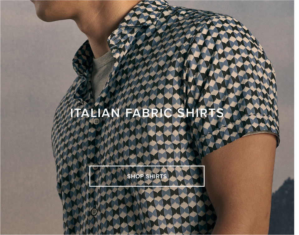 Italian Fabric Shirts - Shop Shirts