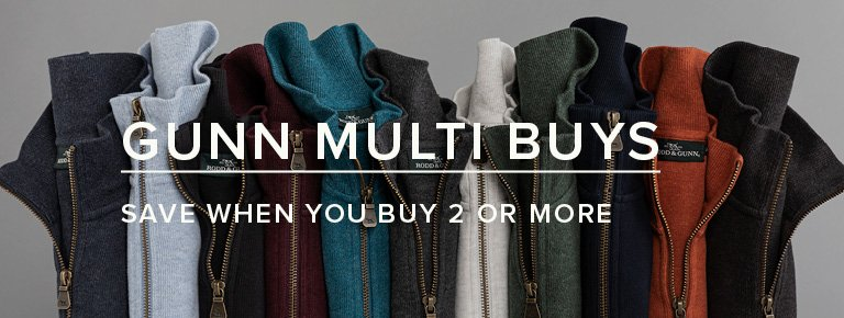 Gunn Multi buys - Save When you Buy 2 Or More