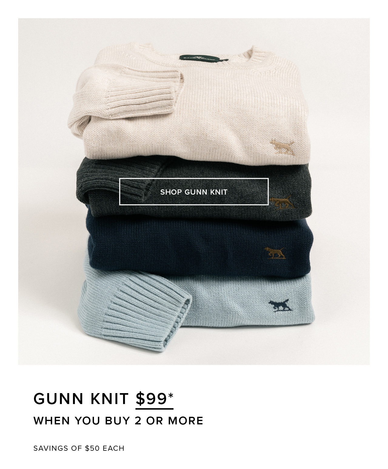 Gunn Knit - 99* When You Buy 2 Or More