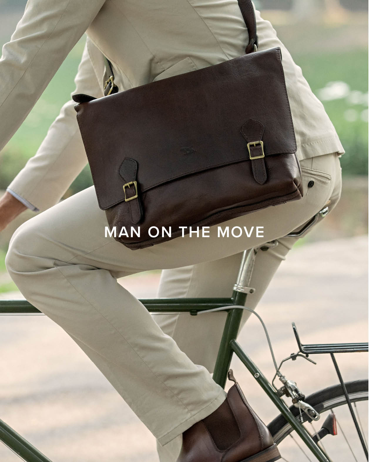 Man on the Move - Motion Jean